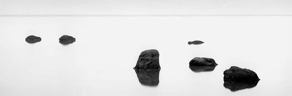 Six Rocks, 2012 by Brian Kosoff