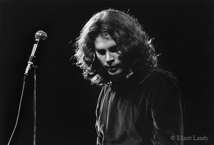Jim Morrison, The Doors, Fillmore East, NYC, 1968 by Elliott Landy