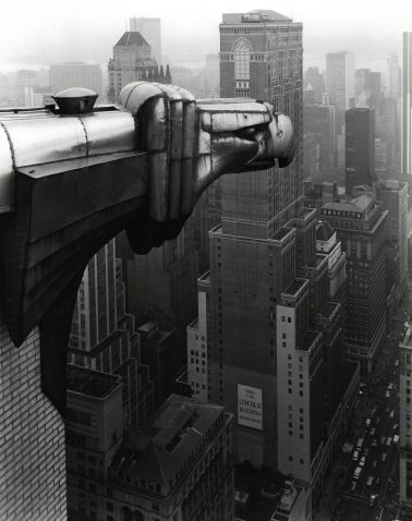 From The Chrysler Building, New York, 1978 by George Tice