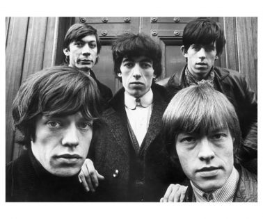 The Rolling Stones, Hanover Square, London 1963 by Terry O'Neill