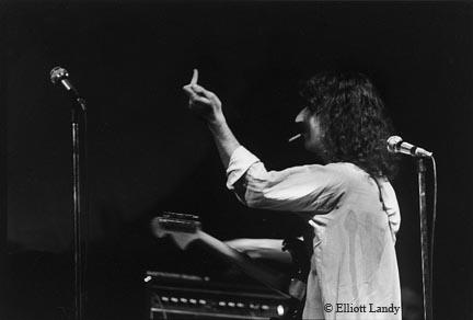 Frank Zappa, Fillmore East, NYC, 1968 by Elliott Landy