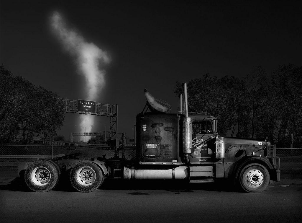 Tractor trailer in NJ, shot by Michael Massaia