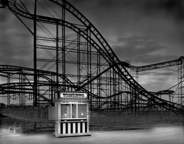 The Jet Star & Ticket Booth, Afterlife, NJ by Michael Massaia