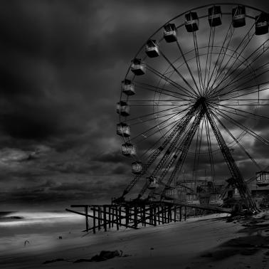 Ferris Wheel at Jersey Shore by Michael Massaia