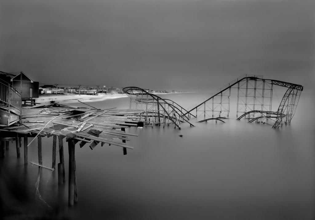 Casino pier post hurricane