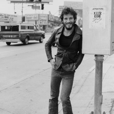 Bruce Springsteen, Los Angeles, 1975 by Terry O'Neill
