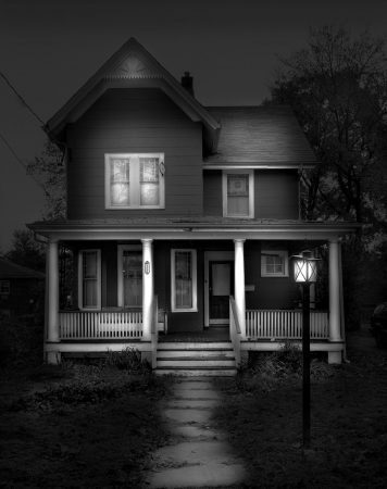 Oradell Home #2, In The Final Throes, NJ by Michael Massaia