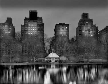 4am Boat House, Deep in a Dream Central Park by Michael Massaia