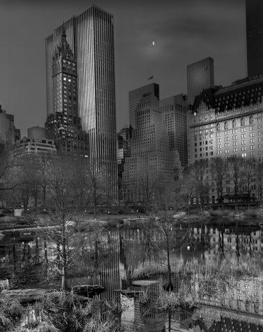Moonrise, Deep in a Dream Central Park by Michael Massaia