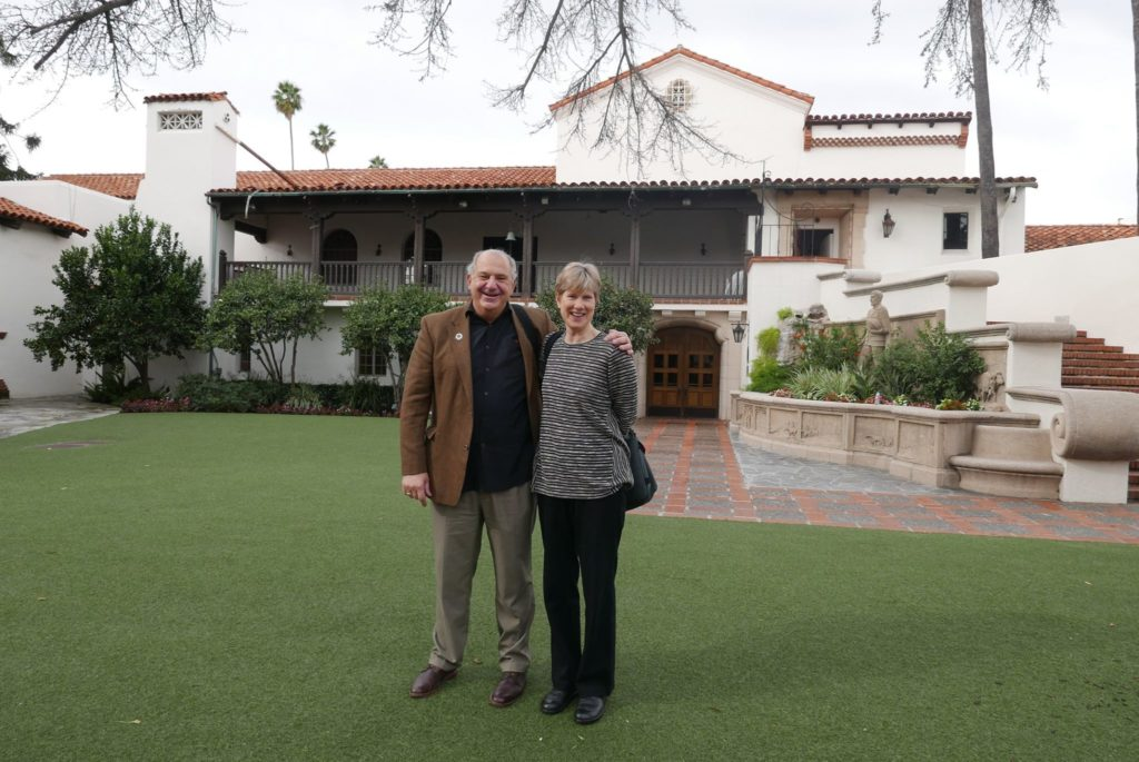 Tom Gramegna and Meg Partridge at the Bowers Museum, Santa Ana, CA Site of Imogen Cunningham, Seen and Unseen through February 26 Photo by Claire Insalata Poulos, Leica D-Lux Typ 109