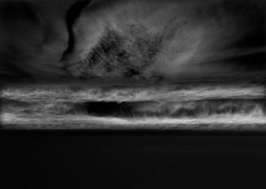 Dusk, Island Beach State Park, The Pull by Michael Massaia