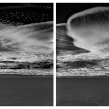 Atomic Tide (Diptych), The Pull by Michael Massaia