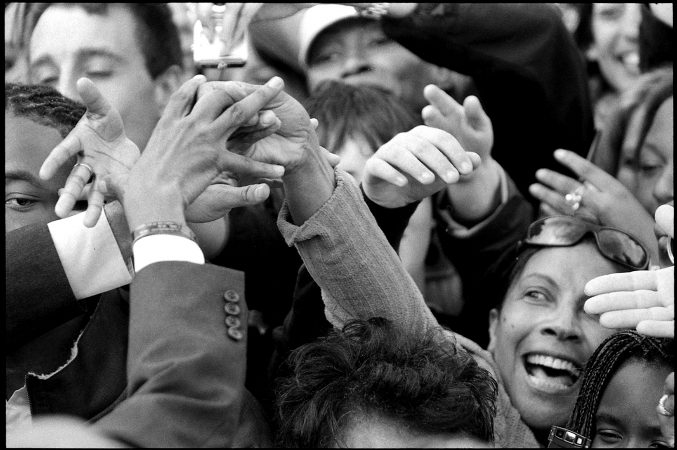Obama Campaign Rally, Montgomery County, PA,, 2008 by Phil McAuliffe