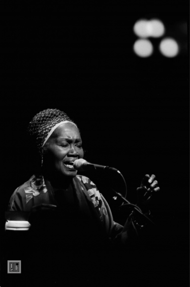 Odetta, War Memorial , Trenton, NJ. 2006 by Phil McAuliffe