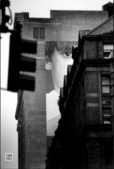 Midtown Manhattan, NYC, 1994 by Phil McAuliffe