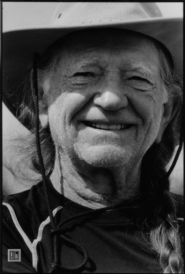 Willie Nelson, Farm Aid, Randall's Island, NY, 2007 by Phil McAuliffe